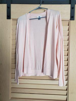 XL peach cardigan for Sale in Las Vegas, NV