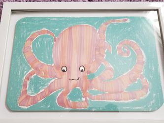 Octopus Nursery Picture for Sale in Sparland,  IL