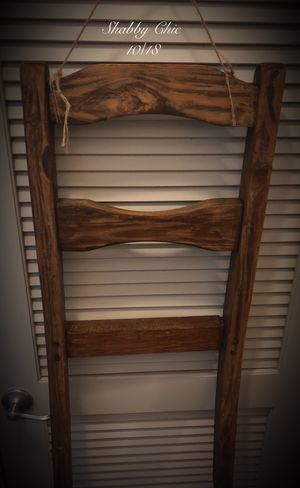 Rustic Farmhouse ladder shelf for Sale in Riverview, FL