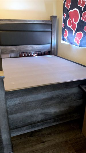 Ashley's Brand new queen bed frame for Sale in Victorville, CA
