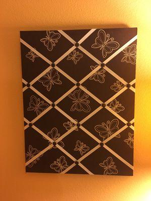 Butterfly design picture/memo board for Sale in Irvine, CA