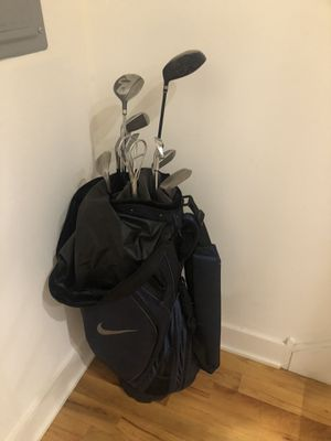 Nike Golf Bag with Clubs for Sale in Philadelphia, PA