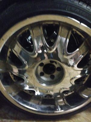 22s rims with good good tires for Sale in Homestead, FL