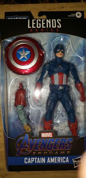 Marvel Legends Avengers Endgame Captain America Thor Baf for Sale in Chicago, IL