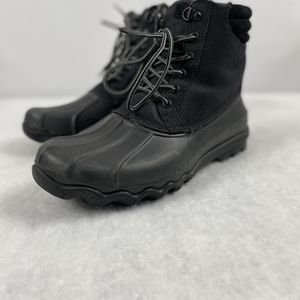 Men Sperry Black Ave. Duck Boots Size 9.5 00583825 With Box for Sale in Cary, NC