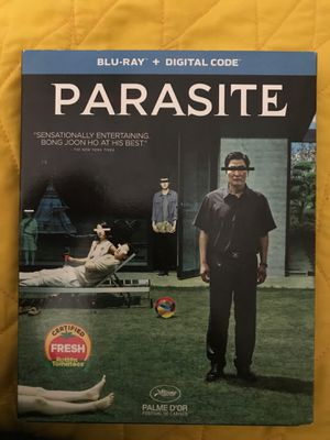 Parasite Blu-Ray Disc Only (no digital copy) for Sale in Orange Cove, CA