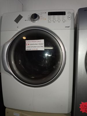 🔥🔥SALE 🔥🔥SAMSUNG ELECTRIC STEAM DRYER WORKING PERFECT W/4 MONTHS WARRANTY for Sale in Baltimore, MD