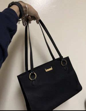 Kate Spade Purse (Black and Gold) for Sale in Aspen Hill, MD