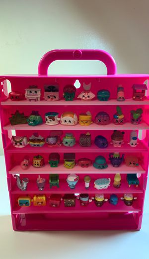 Shopkins lot with carrying case for Sale in Worcester, MA