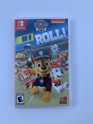 Nintendo Switch PAW PATROL on a Roll Game for Sale in Pomona, CA