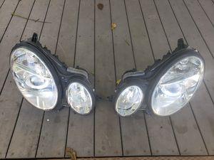 Mercedes w211 headlights e320 e500 for Sale in Portland, OR
