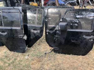 Jeep Wrangler Sahara 4door doors fender for Sale in Dallas, TX