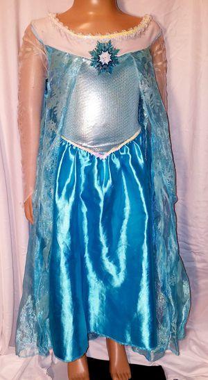 DISNEY ELSA FROZEN Girls Elegant Sz. 5-7 dance costume fancy pageant dress up ballet princess Halloween for Sale in Dale, TX