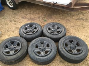 Jeep Wrangler Tires and Wheels for Sale in Jamul, CA