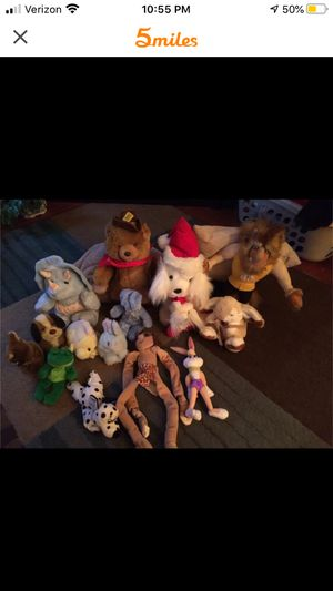 Large lot of various kids stuffed animal toys for Sale in West Hazleton, PA