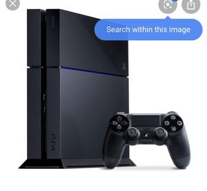 Ps4 , two controllers and new game for Sale in Port St. Lucie, FL