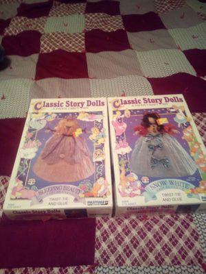 Vintage Disney Princess Paper Craft Dolls Unopened for Sale in Oskaloosa, IA