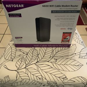 NETGEAR WIRELESS CABLE MODEM for Sale in Chicago, IL