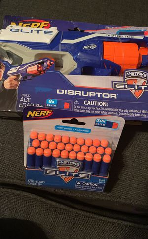Nerf gun and elite pack for Sale in Austin, TX
