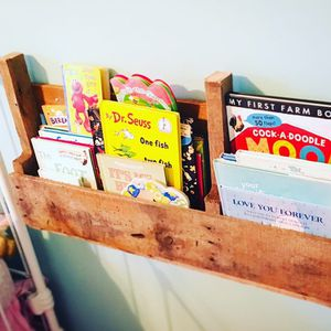 Homemade Pallet Bookshelf for Sale in Canton, GA