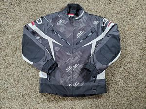Coldwave Powerskin HP Alufoil Snowmobile Jacket Black White Size Medium for Sale in Chicago, IL