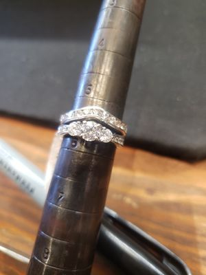 Size 5 1/2 Diamond ring for Sale in Pflugerville, TX