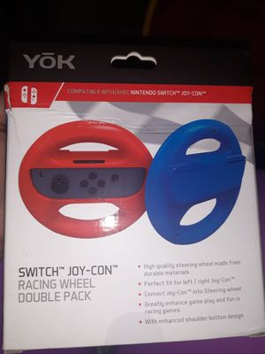 Switch joy-con racing wheel double pack for Sale in Los Angeles, CA
