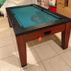 3 in 1 Pool Table slightly damaged for Sale in Baltimore, MD