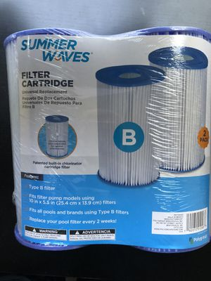 Summer Waves Type B Pool Filters for Sale in Stafford, VA