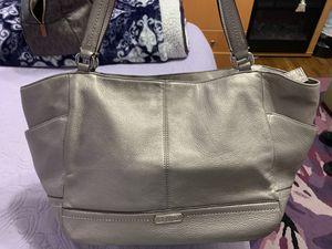Silver Coach Bag for Sale in Fairfax, VA