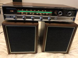 Vintage AM/FM Stereo Receiver- Panasonic RE-7670 - W/Original Speakers - Tested for Sale in Littleton, CO