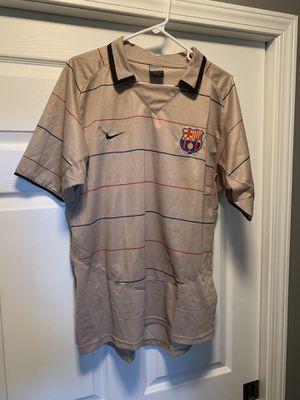 Barcelona Nike collard shirt for Sale in Cadwell, GA