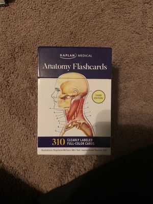 Anatomy Flash Cards Third Edition for Sale in Lemont, IL