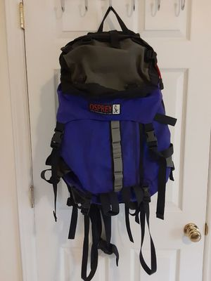 Osprey backpacking backpack. for Sale in Durham, NC