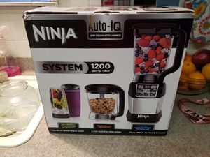 New Ninja Kitchen System with Auto IQ Boost and 7-Speed Blender for Sale in Charlotte, NC