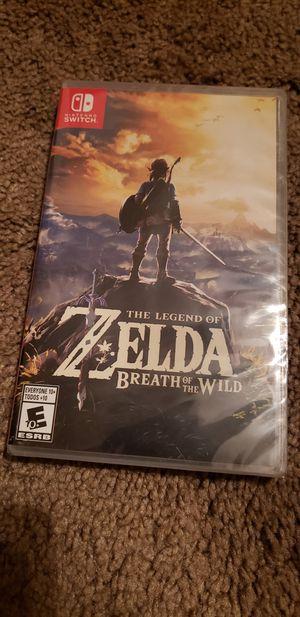 Zelda for Nintendo switch for Sale in Okeechobee, FL