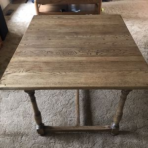 Solid Wood Table for Sale in Leavenworth, WA