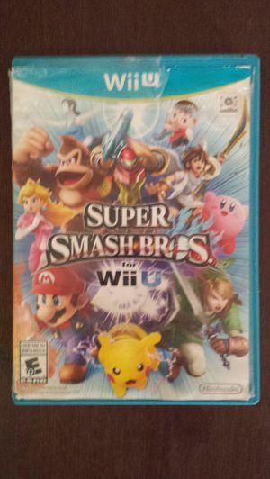 Nintendo Wii U Super Smash Bros - COMPLETE for Sale in Chandler, AZ