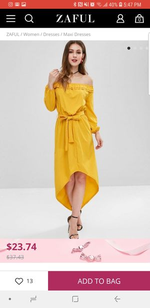 Brand New Yellow Sun Dress for Sale in McLean, VA