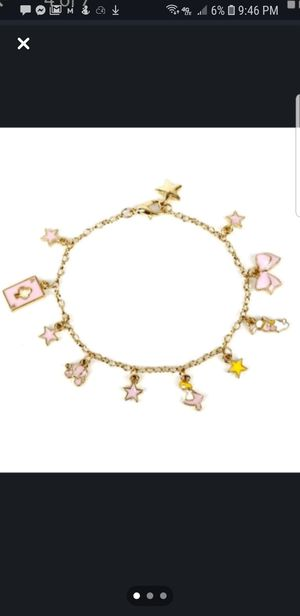 Alice and wonderland charm anklet for Sale in WILOUGHBY HLS, OH