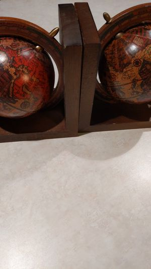 World globe book ends for Sale in Portland, OR