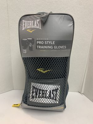 EVERLAST Pro Style LEVEL 1 Training Boxing Gloves 16 oz Sparring MMA Bag Work for Sale in Pelham, NH