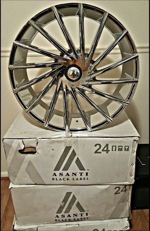 24 Rims Asanti for Sale in Houston, TX
