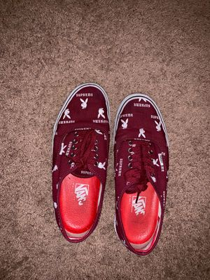 Supreme x Playboy Vans size 9 for Sale in Jamison, PA