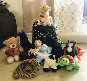 Stuffed Animal(Some Webkinz) for Sale in Boca Raton, FL