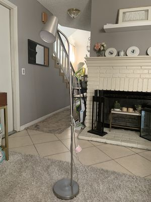 Brand. New LED floor lamp stainless for Sale in Fontana, CA
