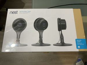 Brand new sealed nest indoor 3 cam for Sale in Fullerton, CA