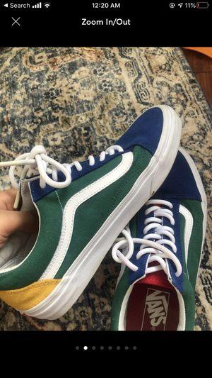 yacht club old skool vans shoes for Sale in Alexandria, VA
