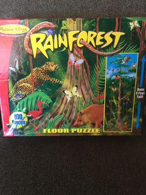 Rain forest floor puzzle for Sale in Cleveland, OH
