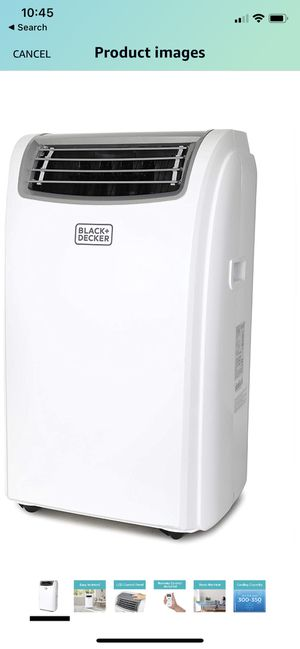 Black + Decker Air Conditioner for Sale in Edgewood, WA